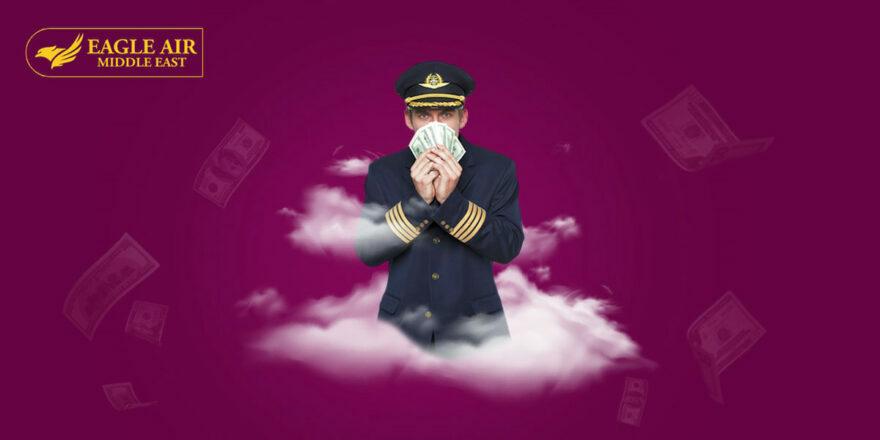 Pilots Gain High Salary