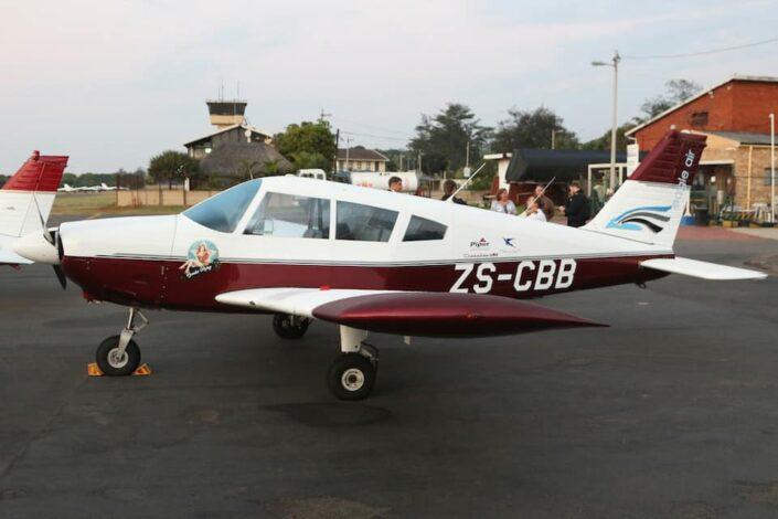 A Plane From Eagle Air Academy'S Fleet